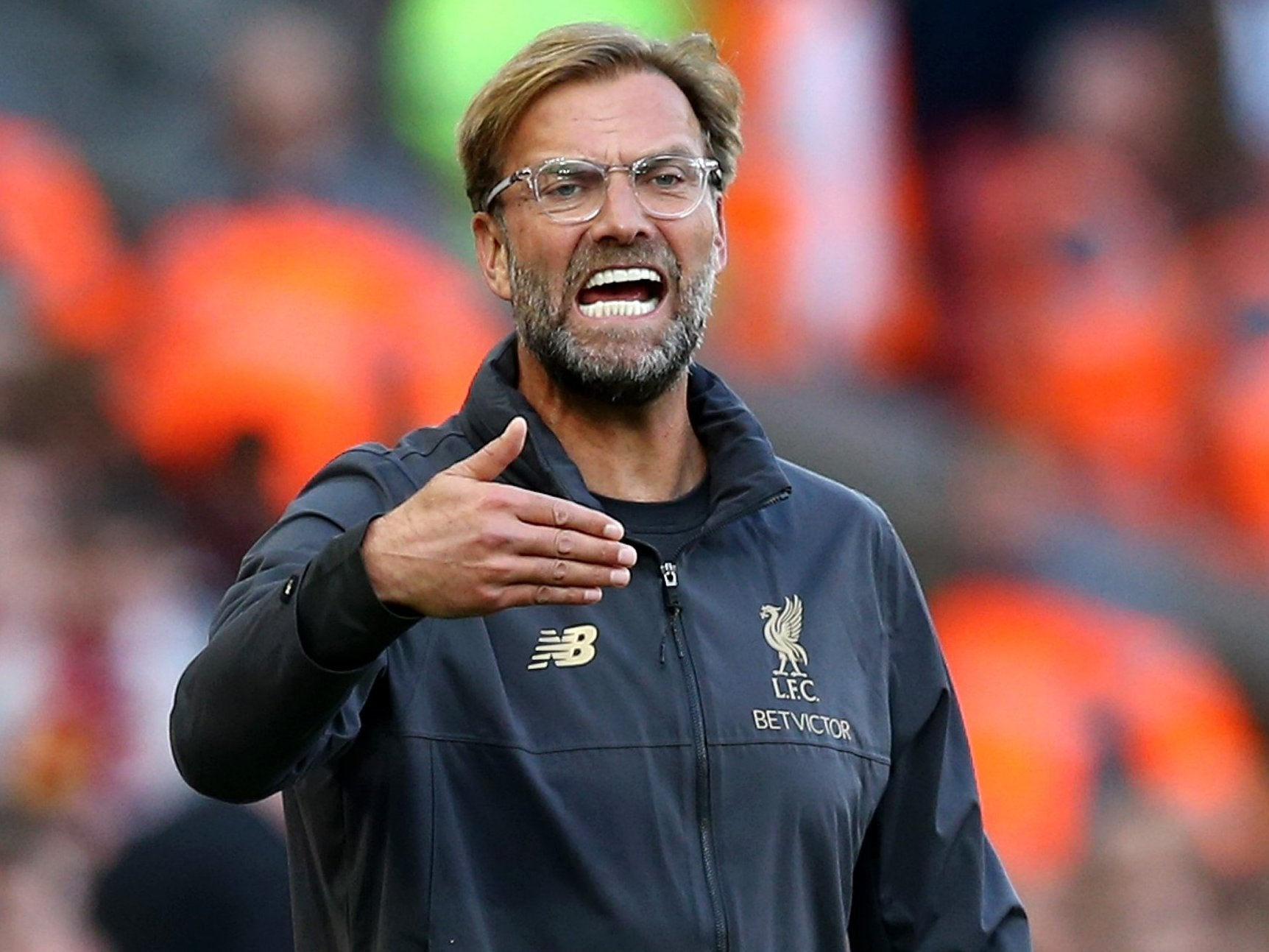 Jürgen Klopp criticises Gary Neville's 'office' views after suggesting Liverpool do not have the squad depth to rotate