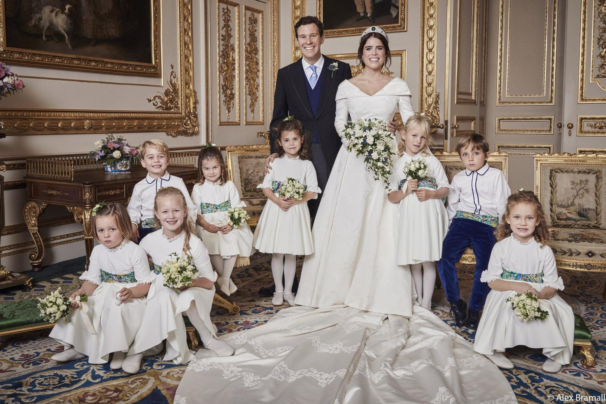 Royal wedding: Princess Eugenie and Jack Brooksbank release official wedding photos