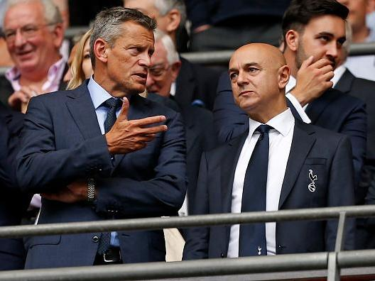 Tottenham chairman Daniel Levy opposes Shahid Khan's £600m bid to buy Wembley