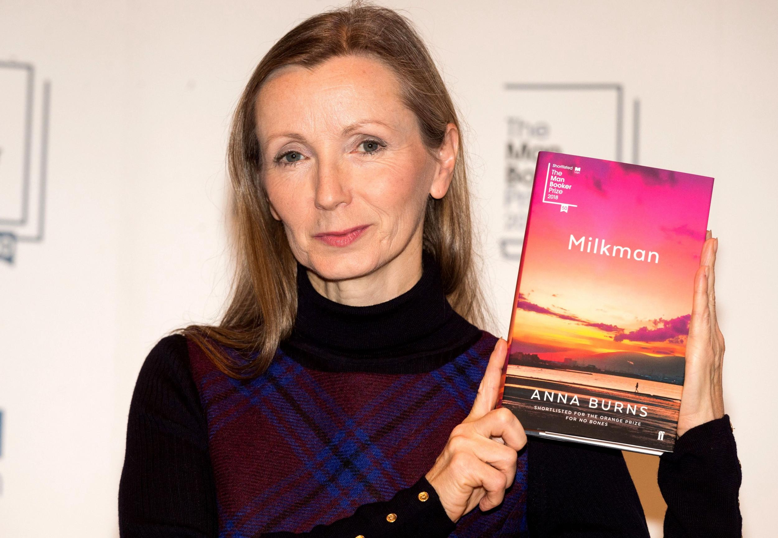 Man Booker Prize 2018 winner: Anna Burns becomes first Northern Irish author to win prestigious award for 'Milkman'