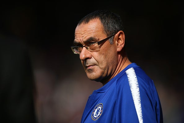 Maurizio Sarri says Chelsea will not add players in the January transfer window despite wanting to improve
