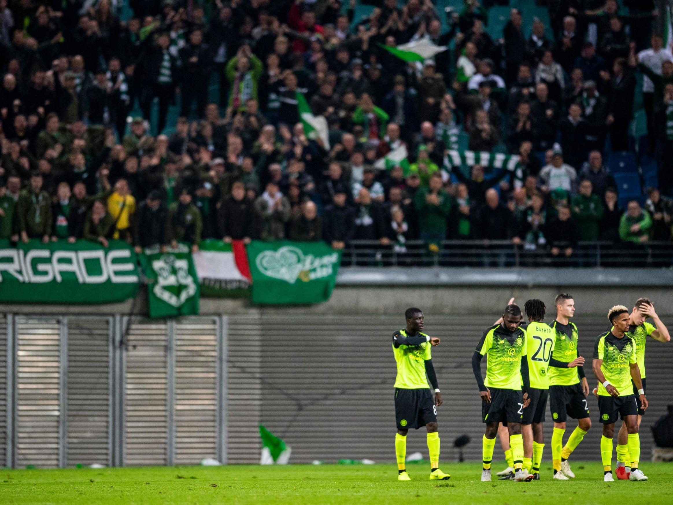 Celtic's Europa League hopes hit hard by RB Leipzig defeat