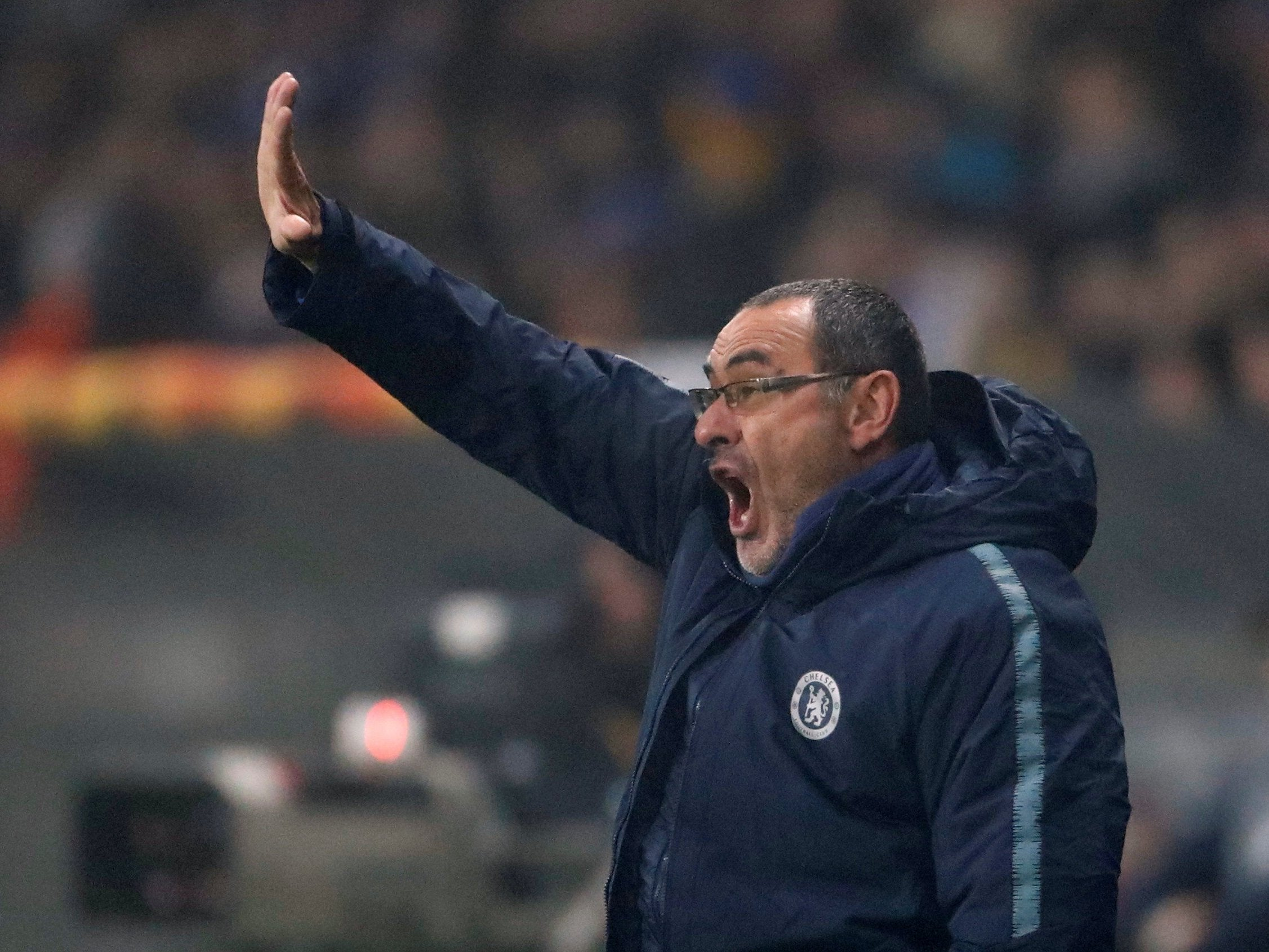 BATE Borisov vs Chelsea: Maurizio Sarri fights off fever and challenges his side to improve after slim victory