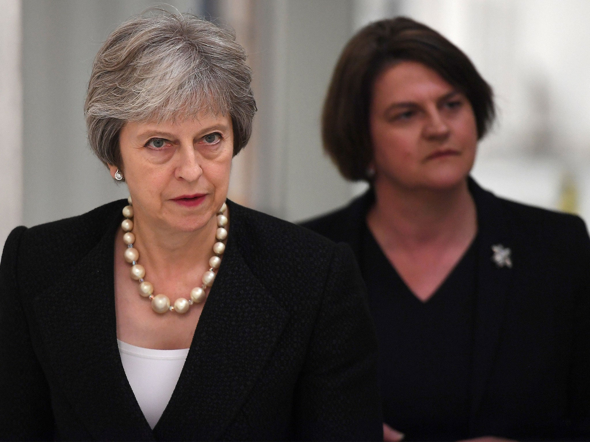 Brexit: May warns DUP of customs border in Irish Sea in case of no deal, leaked letter suggests