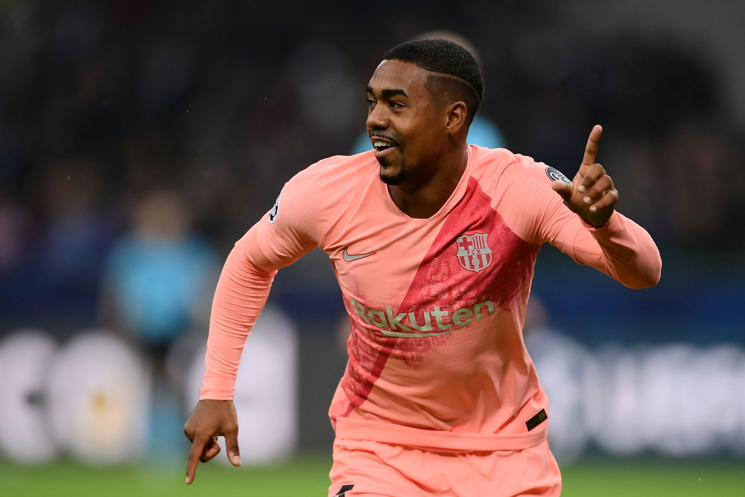 Barcelona forward Malcom ruled out of Champions League clash with Tottenham due to sprained ankle