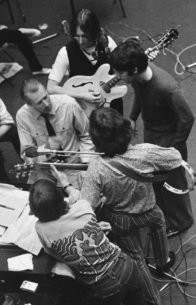 The Beatles' newly adopted method of recording all through the night was time consuming and exhausting for their producer, George Martin. Martin had other duties, including his management of AIR (Associated Independent Recording), and he had also composed the orchestral score for The Beatles' animated feature film, Yellow Submarine, released in July 1968. After the first three months of 'White Album' sessions, Martin took a three-week holiday from the studio, entrusting the control room to his young assistant Chris Thomas and balance engineer Ken Scott. On August 22, Ringo Starr also left the sessions, returning 11 days later to find his drum kit adorned with flowers from his bandmates. While the sessions' four and a half months of long hours and many takes did spark occasional friction in the studio, the session recordings reveal the closeness, camaraderie, and collaborative strengths within the band, as well as with George Martin