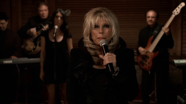 """<b>Season six – part one, episode four</b>: """"Chasing It"""" <p>  <i>The Sopranos</i> featured several surprising guest stars – Lauren Bacall, Sir Ben Kingsley, Annette Bening – but none were bigger for New Jersey than Nancy Sinatra, who plays herself and sings """"Bossman"""" at the """"making"""" ceremony for Phil Leotardo (Frank Vincent). <bl> Her younger brother Frank Sinatra Jr had appeared in season two episode """"The Happy Wanderer"""" and their presence played as a joke about their father's much-touted mob connections."""