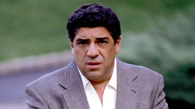 """<b>Season two, episode 13</b>: """"Funhouse"""" <p>  The death of Sal """"Big Pussy"""" Bonpensiero (Vincent Pastore) aboard Tony's yacht after the boys confront him about being an FBI informant is as bitter as it is ugly, bringing season two to a bleak climax. Sal's increasingly frantic attempts to justify his actions in the gently rocking darkness of the boat's cabin is desperate stuff. <bl> The disgust on the face of Tony, already sick with food poisoning, as the group raise a parting glass spells doom in one of the series's most intense and complex moments. """"You were like a brother to me,"""" Tony spits, before weighing down the Fat Man's body and tossing him into the sea. Gulls caw overhead."""