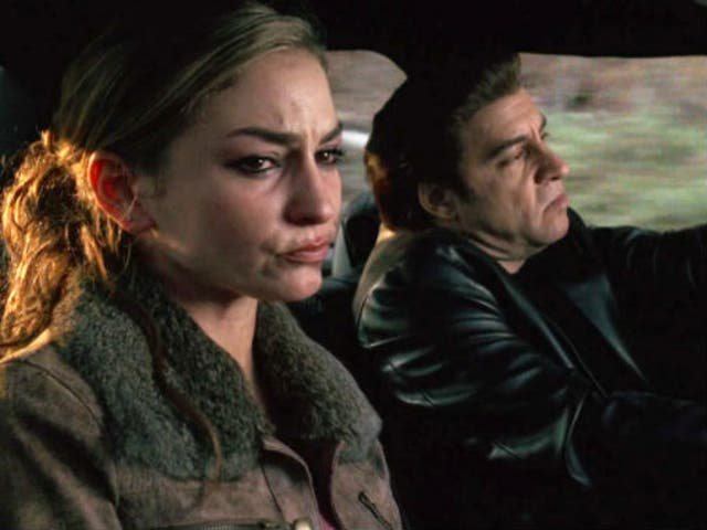 """<b>Season five, episode 12</b>: """"Long Term Parking"""" <bl>  Christopher's long-suffering girlfriend, Adriana (Drea de Matteo), is cornered by the FBI at Crazy Horse, the nightclub she manages, and forced to turn informant or face prison for allowing cocaine distribution to go ahead inside, unchallenged. Living in terror, she confesses the truth to Christopher who almost chokes her before leaving in tears. Out of loyalty to Tony, he gives Adriana up. Silvio, seemingly the man most likely to show mercy, drives her out to the woods and shoots her in the back of the head. A tragic end for one of the show's sparkiest personalities."""