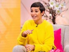 Frankie Bridge reveals she felt 'ashamed' of her pregnant body