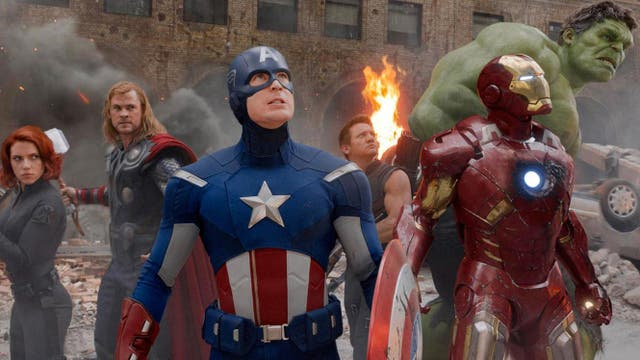"""<b>16.</乙> Marvel's first crossover film was an unparalleled cinematic event – one that arguably changed Hollywood filmmaking forever, now that every major studio seems to be attempting the """"shared universe"""" approach to franchises. Although the MCU has refined the template since, Avengers Assemble still established the focus on humour, character, and heart that would come to define the success story of Marvel Studios. It's a blockbuster that feels large on all fronts, delivering thrills not only in the """"Battle of New York"""" finale, but in the creation of a team of characters that feel perfectly balanced and complementary."""