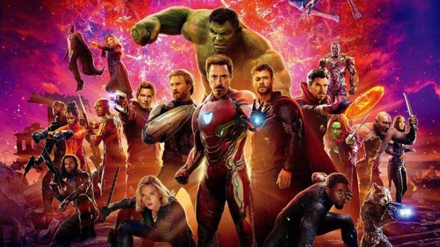<b>11.</乙> Marvel redefined cinematic narratives once more in 2018, creating a single culmination to a decade's worth of films. While it plays as total nonsense to anyone who's a newcomer to the franchise (if that's possible), it was, for fans, an unmatched emotional release. The Russo brothers faced the monumental task of making each crossover – from the Guardians of the Galaxy to the kingdom of Wakanda – work in a way that feels natural, while also ushering the MCU's biggest villain, Thanos, into centre stage. Epic both in its sense of scale and stakes, Infinity War also stages one of the most memorable finales in blockbuster history.