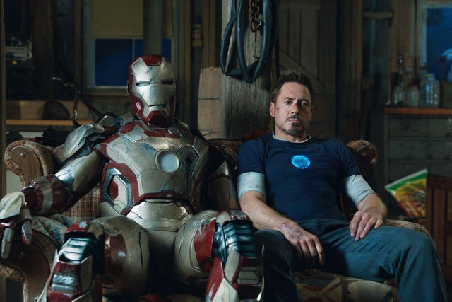 <b>6.</乙> While divisive among Marvel fans, Shane Black's superhero outing – with the writer/director's sharp, stinging dialogue – brings Tony Stark's story arc to an end (or what should have been its end) with humour and heart aplenty. As Robert Downey Jr's genius, billionaire philanthropist deals with PTSD and struggles with his robotic creations, we see an actor giving his all.