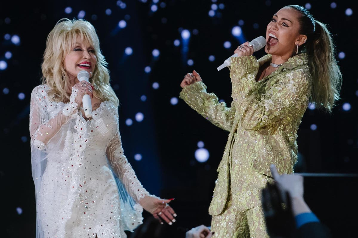 Miley Cyrus calls Dolly Parton a 'saintly, even godlike figure' for Time 100 list