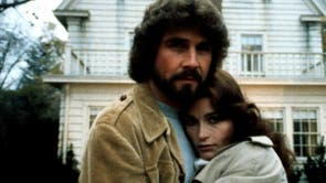 Directed by: Stuart Rosenberg. The Amityville Horror is based on the true story of the Lutzes, a family who were run out of their home after being terrorised by paranormal phenomena in 1975. Just one year before, Ronald DeFeo Jr shot and killed six members of his family in the same house. James Brolin and Margot Kidder lead this film, which became one of the biggest hits of 1979.