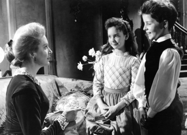 Directed by: Jack Clayton. Based upon Henry James' chiller The Turn of the Screw, the plot of 1961 psychological horror film The Innocents concerns a governess who watches over two children and comes to fear that their large estate is haunted by ghosts and that the youngsters are being possessed.