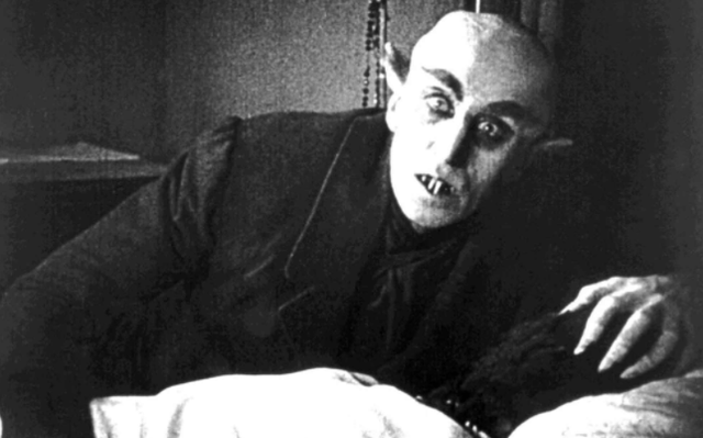 Directed by: FW Murnau. Alongside Cesare in The Cabinet of Dr Caligari (1920), the character of vampire Count Orlok in 1922 film Nosferatu – played by Mac Schreck – remains one of the most spine-tingling in cinema history.