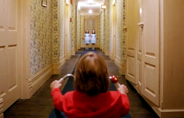 """Directed by: Stanley Kubrick. Forget the iconic """"Heeeeere's Johnny"""" or that bath scene – it's the smaller moments that make Kubrick's 1980 adaptation of Stephen King's The Shining a terrifying watch, notably the trippy final act that sees Jack Torrance (Jack Nicholson) lose his mind to the Overlook Hotel."""