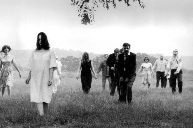 Directed by: George A Romero. Younger viewers may be desensitised by the more extreme horror films to have been released in recent decades, but the scares featured in Romero's Night of the Living Dead – including the young girl zombie reveal – remain some of the most chilling committed to celluloid.