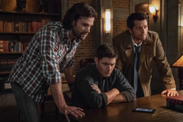 """In the first season's episode """"Provenance"""", it seems that the actors got a bit lazy, referring to characters by their real names, not their character's name. Dean appears to call his brother """"Jared"""", when the character's name is Sam Winchester and an extra calls the character Dean Winchester """"Jensen"""", which is again the name of the actor who plays him."""