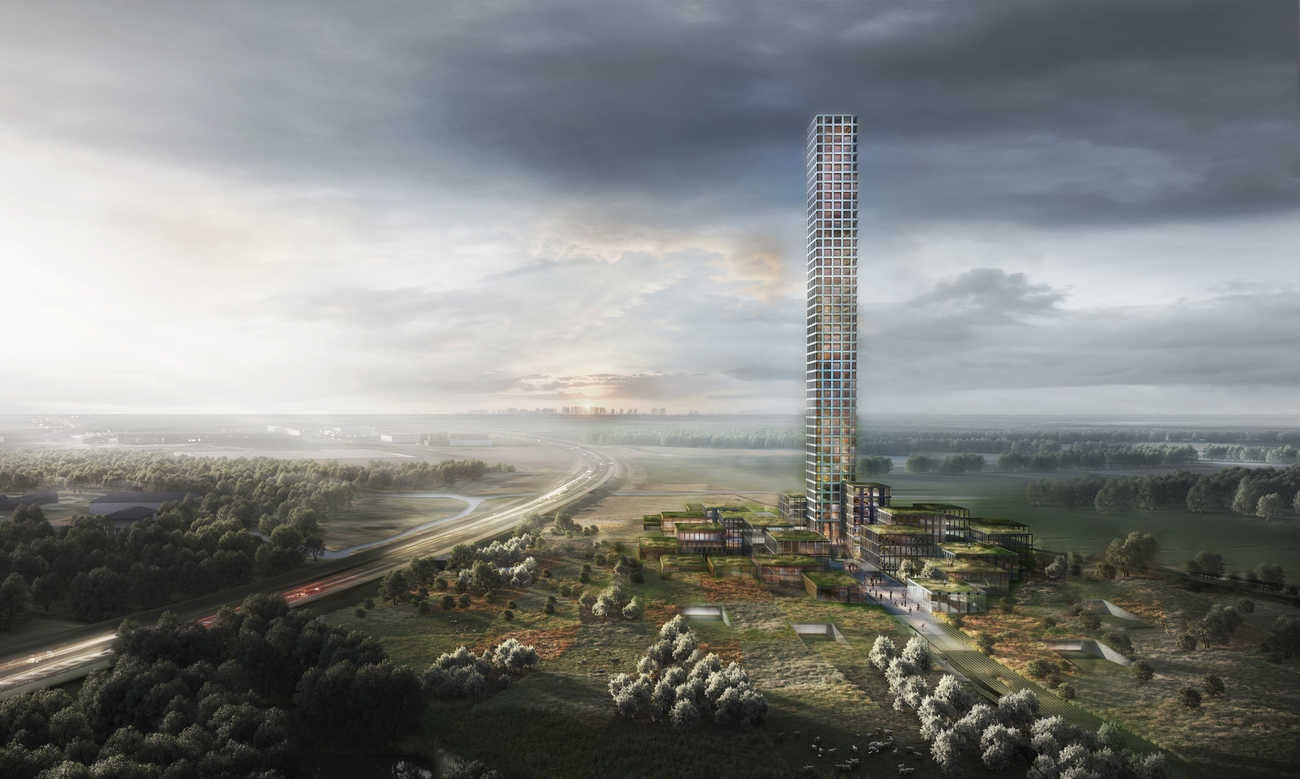 Western Europe's tallest skyscraper to be built in tiny Danish village of 7,000 people