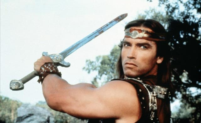 """""""It's the worst film I have ever made,"""" the former Governor of California, Arnold Schwarzenegger, said of the fantasy film Red Sonja. """"When my kids get out of line, they're sent to their rooms and forced to watch Red Sonja 10 keer. I never had too much trouble with them."""""""