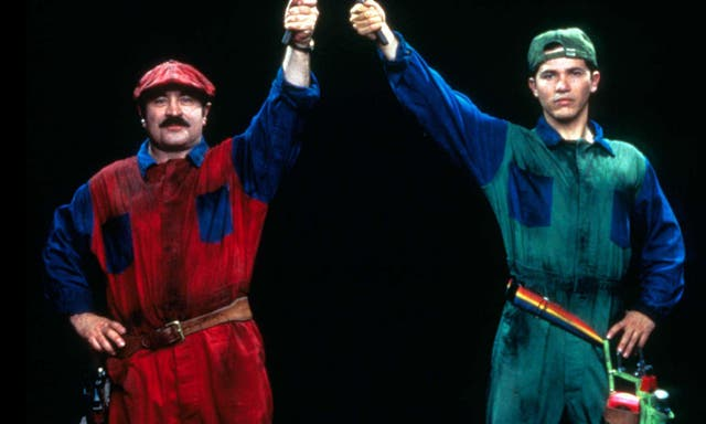 """Even for video-game adaptations, Super Mario Bros, vrygestel in 1993, was a particularly strange film. Asked by The Guardian, """"What is the worst job you've done?"""" """"What has been your biggest disappointment?"""" and """"If you could edit your past, what would you change?"""" the actor had only one answer: """"Super Mario Brothers."""""""