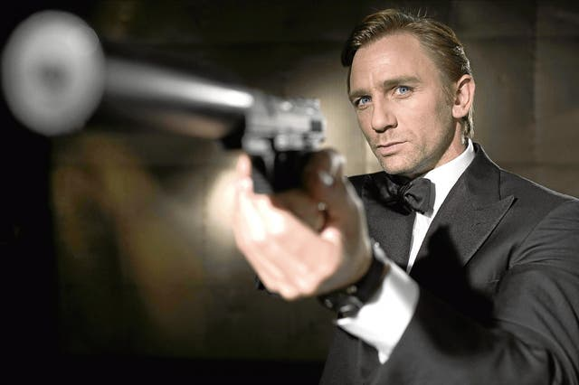 """For a time, many people were not sure whether Daniel Craig would return as James Bond for the 25th film in the series. """"I'd rather break this glass and slash my wrists,"""" he told Time Out of returning to the role. """"Geen, not at the moment. Not at all. That's fine. I'm over it at the moment. We're done. All I want to do is move on."""" Apparently a big enough pay cheque got him back in the tuxedo."""