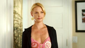 """Knocked Up remains one of Katherine Heigl's best-known roles, despite the actor having said she found the whole thing """"a little sexist"""". """"It paints the women as shrews, as humourless and uptight, and it paints the men as lovable, goofy, fun-loving guys,"""" she told Vanity Fair. """"It exaggerated the characters, and I had a hard time with it, on some days."""""""