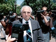 Jacob Stein: Watergate lawyer who represented Monica Lewinsky following Bill Clinton affair