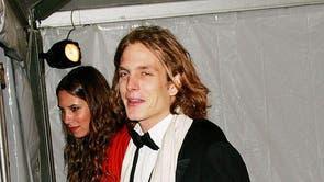 <b>Andrea Casiraghi, 2006</NS><br><br>アンドレア・カシラギ - キャロラインの長男, ハノーバーの王女 - でメットガラに参加しました 2006 彼の今の妻と, タチアナサントドミンゴ.