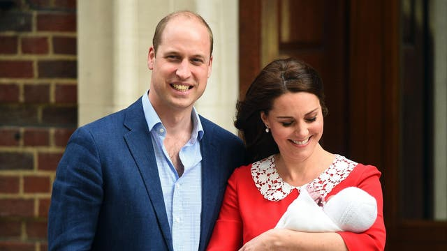 Born 23 April 2018 to Prince William, Duke of Cambridge and Catherine, Duchess of Cambridge