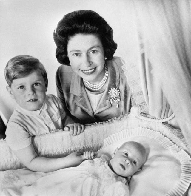 Born 10 Maart 1964 to Queen Elizabeth II and Philip, Duke of Edinburgh