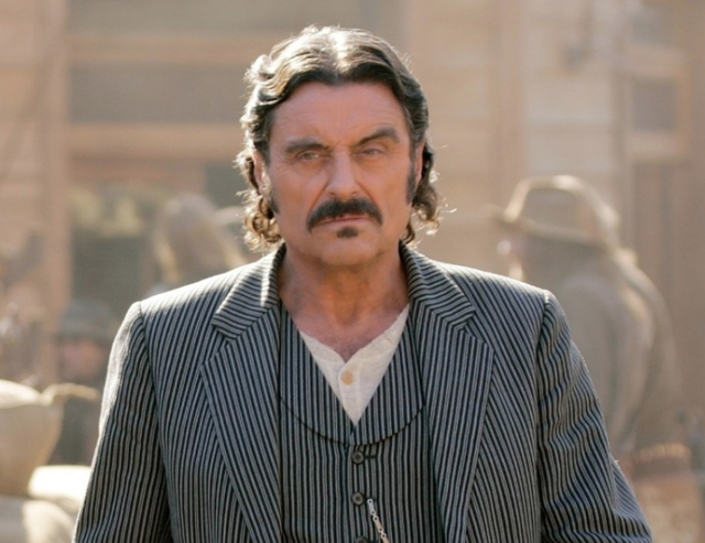 <b>Played by</b>: Ian McShane <bl>  Al Swearengen was Deadwood's beating heart, a character whose dealings are so murky it's a wonder you actually found yourself <i>wanting</i> to catch up with him in every new episode.