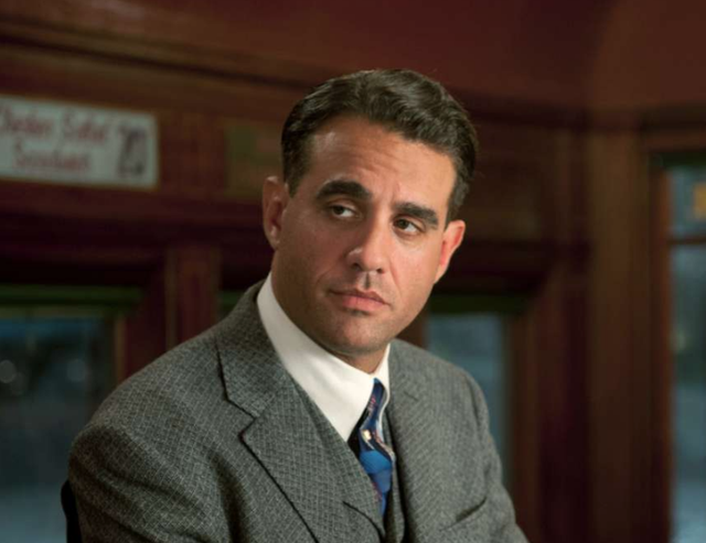 <b>Played by</b>: Bobby Cannavale <bl>  Prohibition gangster Gyp Rosetti came into Boardwalk Empire like a wrecking ball. Cannavale's performance as the maniacal self-asphyxiating character intent on destroying the world of Nucky Thompson (Steve Buscemi) won Cannavale a well-deserved Emmy.