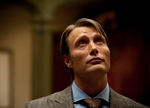 <b>Played by</b>: Mads Mikkelsen <bl>  Taking on a role made famous by acting heavyweights Brian Cox and Anthony Hopkins is no mean feat, but it's one that Mads Mikkelsen feasted upon with relish. As the Dr Hannibal Lecter in the short-lived TV series, he was able to, er, flesh out the role in a way that the aforementioned were unable to do in just four films, onderskeidelik.
