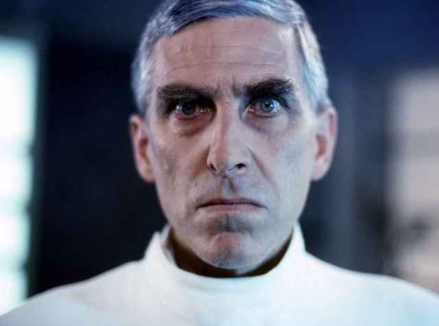 <b>Played by</b>: Terrence Hardiman <bl>  Despite being on screen for just three years, the Demon Headmaster - a disciplinarian who attempts to use hypnosis to control the children in his school - has wedged his way into the history books as one of children television's most chilling villains of all time.