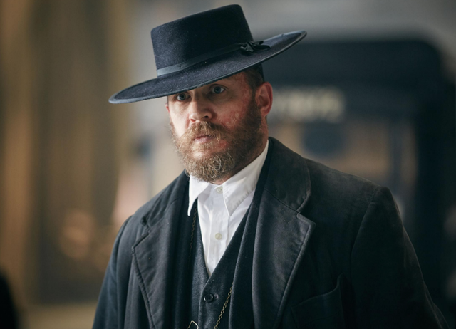 <b>Played by</b>: Tom Hardy <bl>  Peaky Blinders isn't the same without Alife Solomons. It's Tom Hardy who breathed life into the volatile yet loveable baker who, thanks to the pitch perfect writing from creator Steven Knight, was the television equivalent of a lion waiting to pounce on the BBC drama's characters.