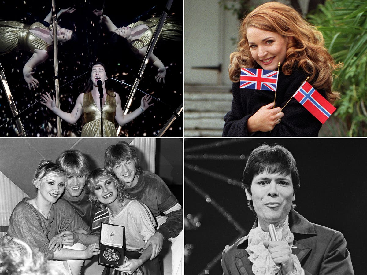 Best and worst UK Eurovision contestants - ranked