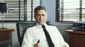 The ITV fish-out-of-water detective drama stars Rob Lowe as a US police chief who moves to the UK to take up the role of Chief Constable with East Lincolnshire police. He wears four medal ribbons – Diamond Jubilee Medal, Golden Jubilee Medal, Queen's Police Medal and Police Long Service and Good Conduct Medal. The trouble is not only are they in the wrong order, but he shouldn't be wearing any of them. He's an American who hasn't previously served in the British police.