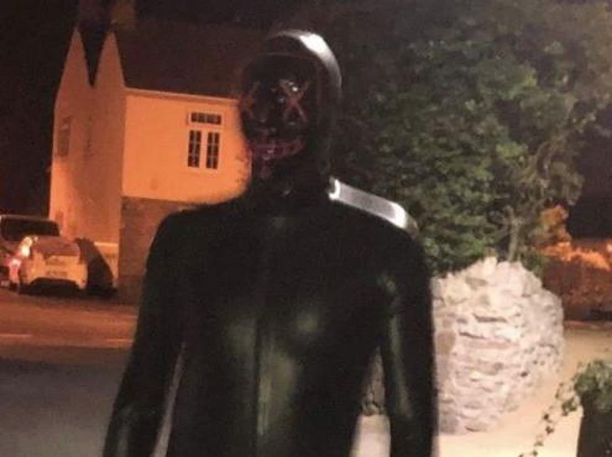 Somerset couple report latex-clad masked man spying on them at night