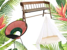 10 best garden furniture: From rattan dining sets to hanging chairs