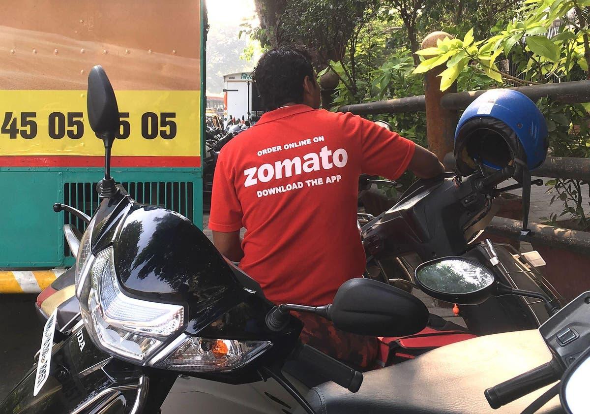印度食品配送应用重新雇用引发国家语言辩论的员工