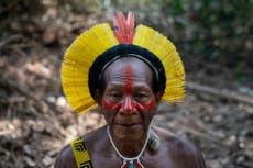 Warring Amazon tribes unite against Bolsonaro's rainforest plans