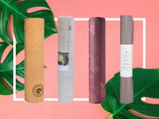 8 best yoga mats for keeping fit at home