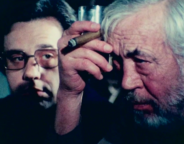 For a reminder how unhinged film-making became in the Seventies, buckle up and lose yourself in this posthumous restoration of never-completed Orson Welles movie, The Other Side of the Wind. What would have been Welles's swansong is a maniacal, meta meditation on art and fame, with John Huston playing a buccaneering director – in essence, a heightened composite of himself and Welles. There are also parts for Peter Bogdanovich and Dennis Hopper. Welles's editor, Bob Murawski, together with Bogdanovich and Welles's daughter Beatrice, assembled the cut from 100 hours of footage. It only occasionally makes sense – but, as an experience, it's unforgettable.