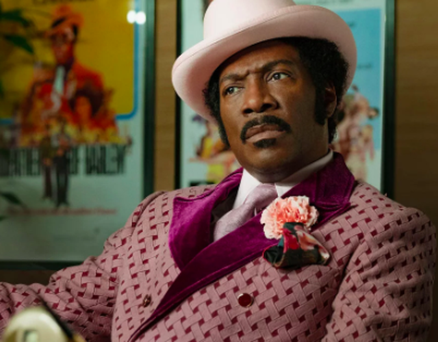 """Eddie Murphy puts in one of his best performances in years in Dolemite Is My Name, a biopic about Blaxploitation comedian Rudy Ray Moore, whose potty-mouthed albums and movies in the mid Seventies were credited with helping invent hip hop. Moore's """"Dolemite"""" character was based on old black homeless man he encountered in San Fransisco and caused both a sensation and a scandal at the time. Murphy brings this complex figure to life with an alternately hilarious and affecting turn."""
