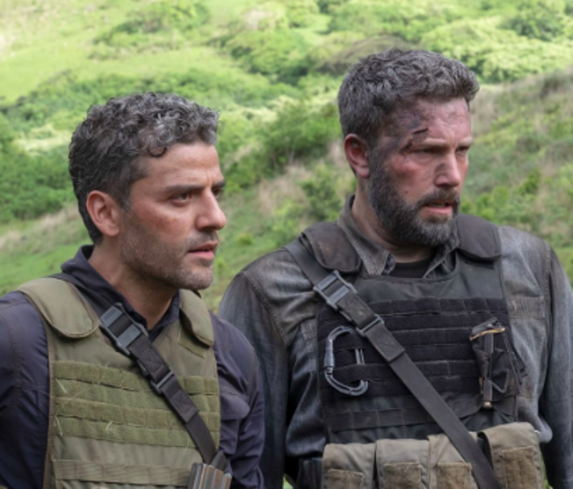Team-up heist movie Triple Frontier stars Ben Affleck, Oscar Isaac, Charlie Hunnum and Pedro Pascal as old marine corps buddies headed to South America for one final pay-day. It's hugely flawed – but Affleck is convincing as a guy losing his way amidst divorce and middle age. And JC Chandor (Collateral) directs the action scenes with pizzaz. It comes close to being a great action flick for grown-ups before ultimately fizzling out.