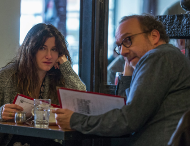 In Private Life, a bohemian middle-aged couple struggle to have a child. Kathryn Hahn and Paul Giamatti are hilarious and poignant. And the pathos is piled on as twenty-something college drop-out Sadie (Kayli Carter) parachutes into their life. High-jinks follow, though director Tamara Jenkins ensures the existential sadness that has become part of the protagonists daily life never quite fades.