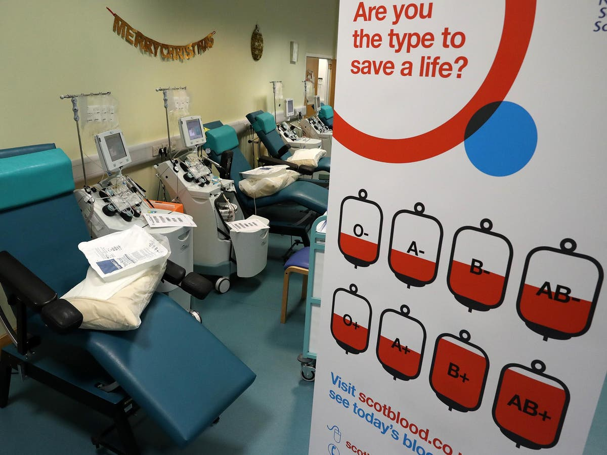 'Discriminatory' question about HIV and sex to be removed from blood donor forms